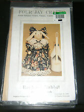Four Jay Crafts Rachael Rabbit Hide a Toilet Brush Pattern