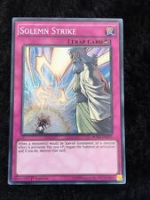 YUGIOH SOLEMN STRIKE SECRET MIXED ED NEAR MINT MIXED PACKS