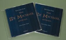 CATHOLIC MUSIC CD Instrumental Piano Selections by Justin Soutar Volume I & II