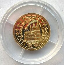 Northern Mariana 2005 City of Vatican 5 Dollars Gold Coin,Proof