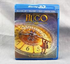 Hugo Blu-Ray & DVD Combo Pack 2-Disc Set Steampunk Movie Chloe Grace Moretz