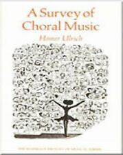 A Survey of Choral Music Harbrace History of Musical Forms