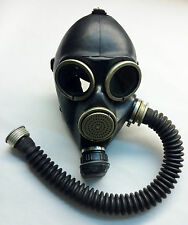 Gas mask GP-7 size 1 2 small medium with black gas mask hose tube russian soviet