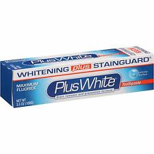 Plus + White Toothpaste Xtra Whitening Mint Gel 3.5 oz. (Pack of 3)