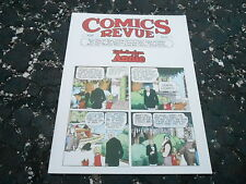 #199 COMICS REVUE vintage comic strip magazine (UNREAD - NO LABEL )