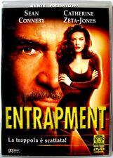 Dvd Entrapment con Sean Connery e Catherine Zeta-Jones 1999 Usato