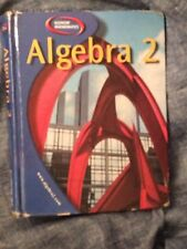 Glanceo McGraw-Hill Algebra 2 HC Textbook 2003 USED