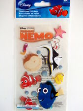 JOLEES BOUTIQUE DISNEY STICKERS -  FINDING NEMO with title