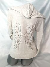VICTORIA'S SECRET ANGEL HOODIE MEDIUM SUPERMODEL ESSENTIALS LIGHTWEIGHT ~NWT