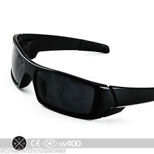 BLACK GAS CAN Sunglasses Super Dark Smoke Lens X Sports Biker Locs Wrap Cool
