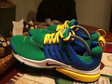 NIKE AIR PRESTO ESSENTIAL SZ 8 LUCKY LUCID GREEN HYPER COBALT BLACK 848187 300