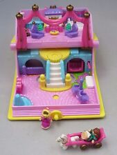 Vintage 1995 Polly Pocket Princess Palace story book compact complete - Bluebird