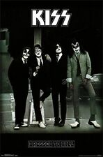 KISS - DRESSED TO KILL POSTER - 22x34 ROCK BAND SIMMONS MUSIC 13839