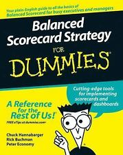Balanced Scorecard Strategy For Dummies (For Dummies (Business & Perso-ExLibrary