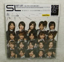 AKB48 Set List Greatest Songs 2006-2007 Taiwan CD -Normal Edition-