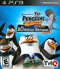 THE PENGUINS OF MADAGASCAR DR. BLOWHOLE RETURNS AGAIN Playstation 3 *DISC ONLY*