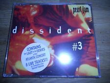 PEARL JAM DISSIDENT DISC # 3 8 LIVE TRACKS CD SINGLE RARE AND OUT OF PRINT RARE*