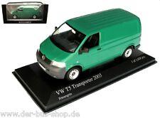 VW Bus T5 - Minichamps Modell 1:43 - Transporter - Grün - NEU OVP