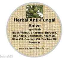 Anti-Fungal Salve with Black Walnut, Burdock, Chaparral,and More