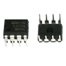 10* New TL072CN TL072 Low Noise JFET Dual Op-Amp DIP-8 IC Better Quality K2