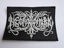 NECROPHOBIC EMBROIDERED LOGO BLACK DEATH METAL PATCH