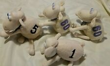 Serta Matress Sheep Lot Stuffed Animal Plush Blue Eyes