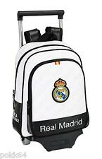 Real Madrid cartable à roulettes trolley M sac à dos 34 cm maternelle 223060