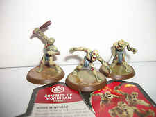 Heroscape Game Figure Army Set/Lot w Card Zombies of Morindan