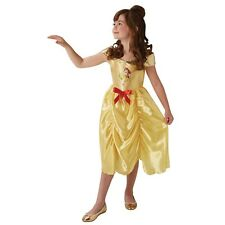 Bnwt Disney Principessa BELLE Fancy Dress Costume Età 5/6 Anni