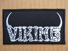 ECUSSON PATCH TOPPA AUFNAHER THERMOCOLLANT VIKING musique rock roll  /9.2x5.2cm