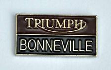 TRIUMPH BONNEVILLE COLLECTORS BIKE PIN BADGE NEW