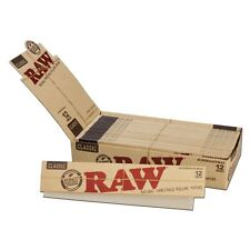 1 PACK RAW GIANT 12 INCH FOOT LONG CIGARETTE PAPERS 20 SUPERNATURAL SIZE SHEETS