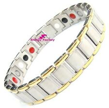 Titanium Magnetic 4in1 Bracelet Power Armband + Magnets Germanium FIR Anion