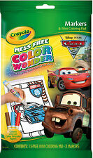 Crayola Colour Wonder (Color Wonder) Mini Colouring Book & Markers - Disney Cars