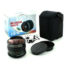 NEW Zenitar 16 mm 2.8 MC FishEye 180° View Manual Lens SONY A7 Nex E Mount