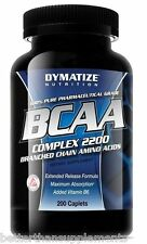 DYMATIZE BCAA Complex 2200 - 200 Caps. free shipping !