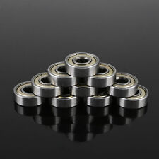 10 Pcs Carbon Steel 608zz 608-ZZ Ball Bearing For Skateboard Roller Blade