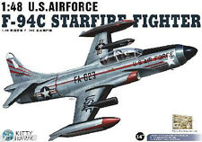 Avion de chasse US LOCKHEED F-94C STARFIRE FIGHTER- KIT KITTY-HAWK 1/48 N° 80101