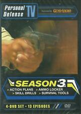 Personal Defense TV Season 3 Tips Strategies Action Plans 4 DVD SET 4+ Hours NEW