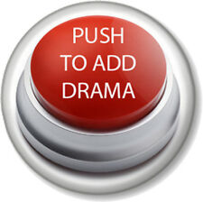 PUSH TO ADD DRAMA 25mm Pin Button Badge The Arts Stage School Acting Performing