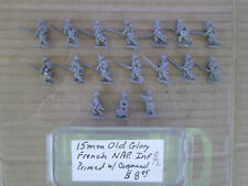 15mm Old Glory  French Napoleonic Infantry 1809 w / Command
