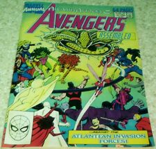 The Avengers Annual 18, NM- (9.2) 1989 Atlantis Attacks! 50% off Guide!