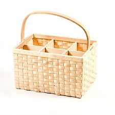 Bottle Carrier 6 steamed Willow VIMINI latte titolare Vine bere CESTO Trendy KB17