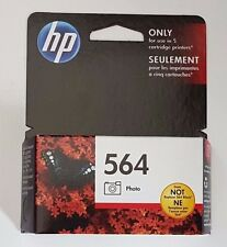HP 564 PHOTO INK CARTRIDGE CB317WN EXP. MARCH 2016 NEW RETAIL BOX GENUINE