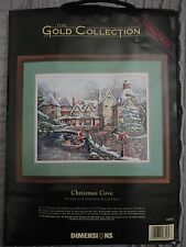 "Dimensions Gold Collection ""Christmas Cove"" Counted Cross Stitch kit 18""x14"""