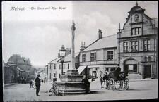 UK~SCOTLAND ~ 1900's MELROSE ~ THE CROSS AND HIGH STREET ~ Horse Taxi and More !