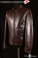 'SKYFALL' Men's Brown Soft Lambskin Movie Leather Fashion Nappa Jacket