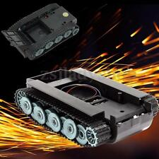 New SN900 Smart Robot Germany Tank Car Chassis Rubber Track Crawler for Arduino