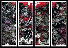 Teenage Mutant Ninja Turtles Screen Print Poster Set By Rhys Cooper Mondo TMNT