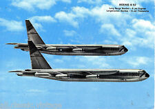 Postcard 1042 - Aircraft/Aviation Boeing B52 Long Range Bomber